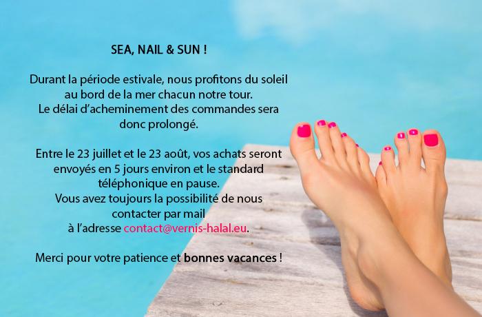 sea, nail & sun
